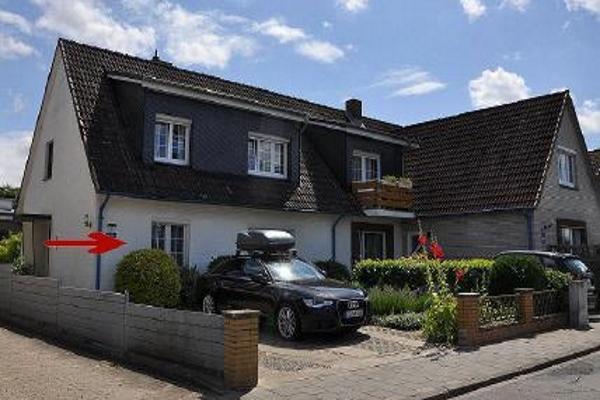 Lage der Wohnung im Ferienhaus Ostsee
