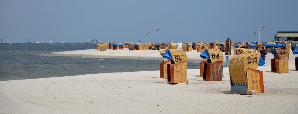 Ostseebad Laboe, Strand und Promenade