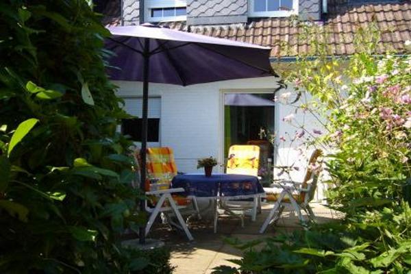 Terrasse, Ferienwohnung carpe diem